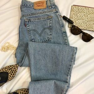 Levis 550 Vintage 12M Tapered Relaxed Jeans A31